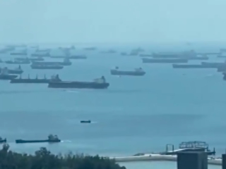 """""""Tankers, Tankers. Everywhere!"""" - Virus Causes Historic' Traffic Jam' Across Asian Supply Lines"""