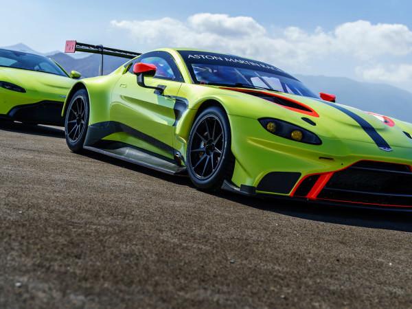 Aston Martin Vantage GTE race car revealed