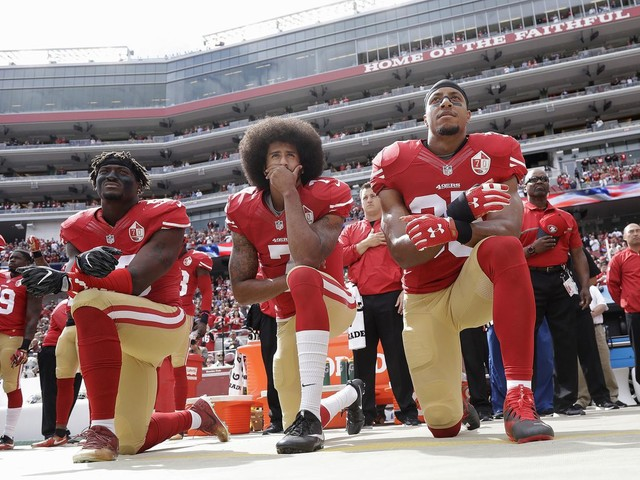 NFL's new national anthem policy: Players must stand if on field but can opt to stay in locker room