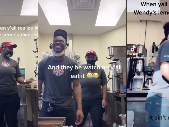 Workers say Wendy's uses expired meat in viral TikTok before quitting