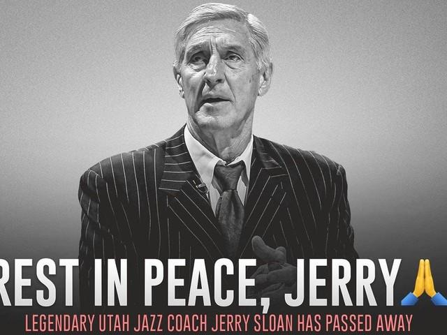 Utah Jazz Hall of Fame coach Jerry Sloan dies at 78