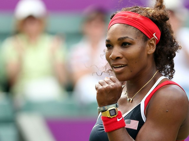Serena Williams Is Wearing The Cutest Nail Art For A Cause