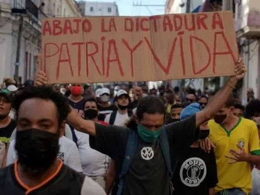 Largest Peaceful Protest In Cuba In 6 Decades, Why Is AOC Hiding?