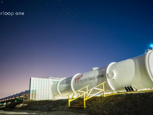 North Texas Advances To Second Round For Virgin Hyperloop One Test Track, Certification Center