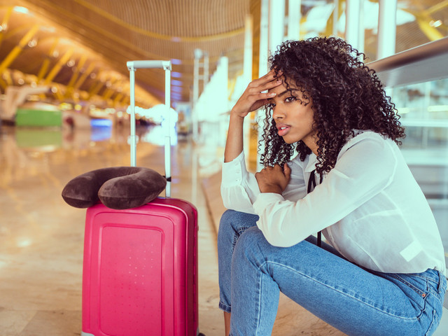Survey reveals the most stressful part of traveling for the holidays