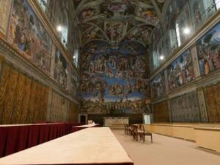Sistine Chapel aims for new heights with Olympics-style show