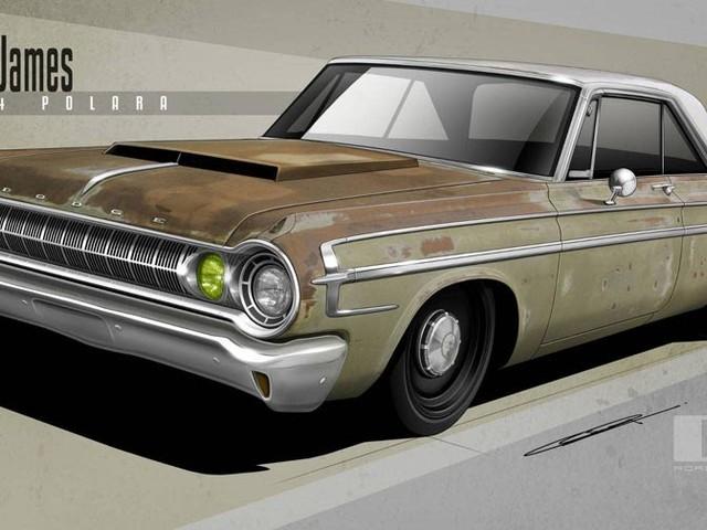 Scruffy Twin-Turbo'd 1964 Dodge Polara Rat Rod Heads To SEMA