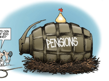 Almost 80,000 California Retirees Receive Over $100,000 In Pension Pay