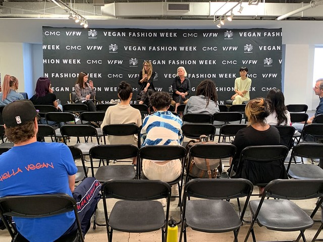 Vegan Fashion Week educated attendees with The Future of Fashion conference
