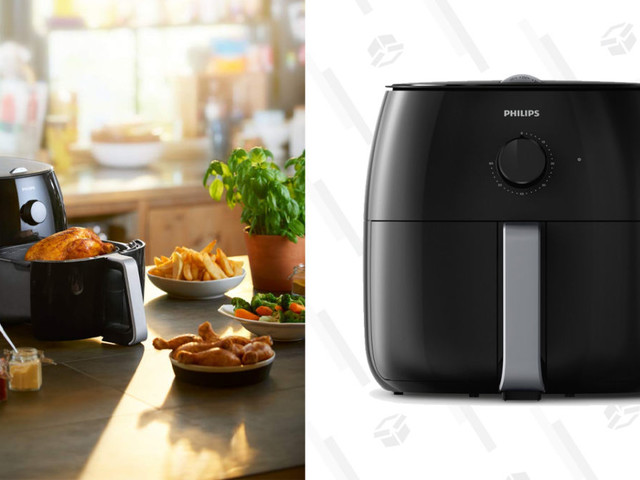 Cook a Ton of Crispy (and Mostly Healthy) Food With This Discounted Philips Air Fryer