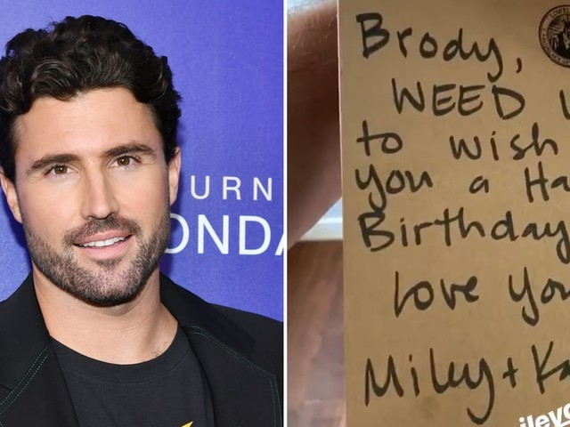 Miley Cyrus and Kaitlynn Carter Got Brody Jenner a Very Thoughtful Joint Birthday Gift