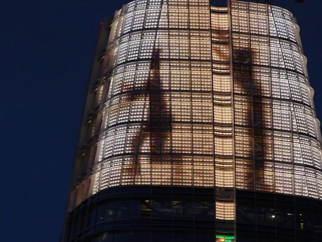 California Today: California Today: In San Francisco, Public Art Soars High Into the Skyline