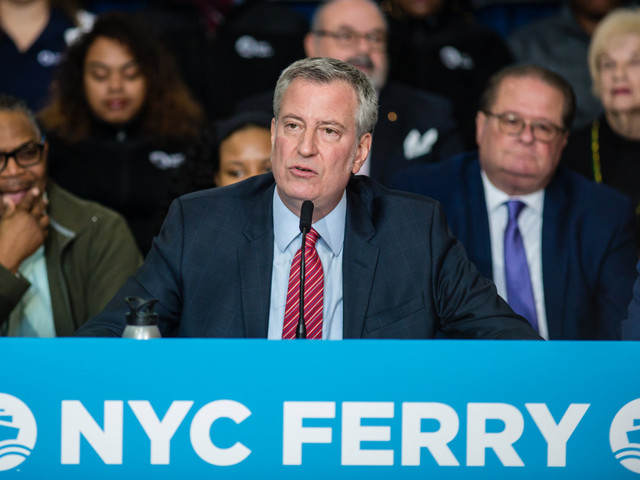 How de Blasio's ferry fantasy is just like all his other policies