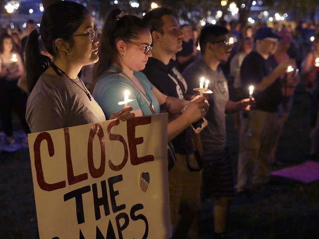 Lights For Liberty Vigils Across The U.S. Call For An End To Migrant Detention Centers