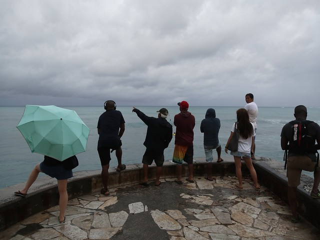 Flash flood warning issued for Hawaii as freak spell of heavy rain hits South Pacific
