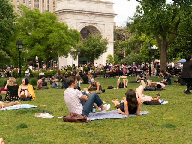 New Yorkers luck out with perfect Memorial Day weekend weather