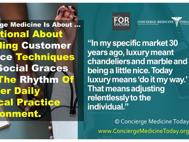 """Letter from the Editor: """"The Changing Nature of Luxury and How Patient Perception of Luxury Is Today And How It Is Changing."""""""