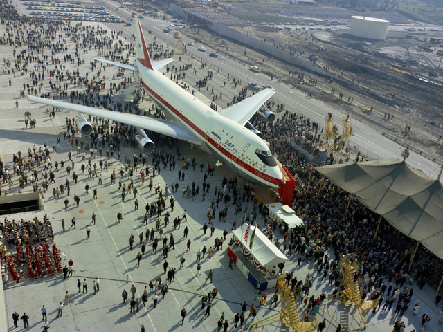 How Boeing's first 747 took off — and changed the world forever