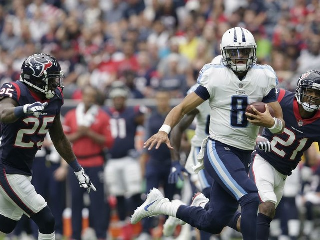 Marcus Mariota will return to field against Colts Monday night