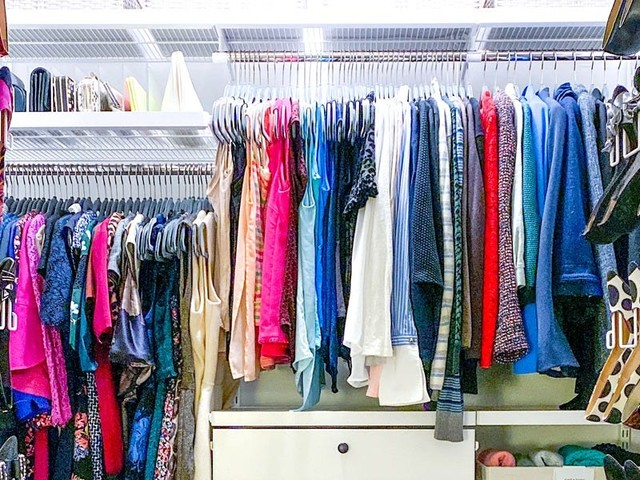 How to organize a bedroom closet, according to a professional organizer