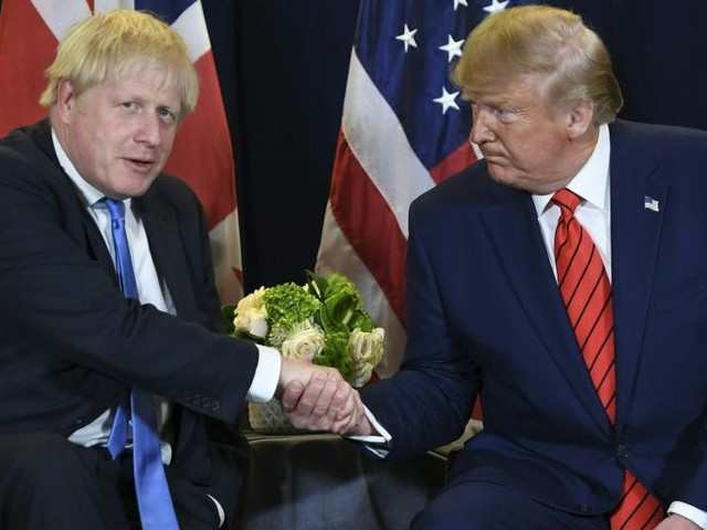 Jeremy Corbyn reveals 451 page secret documents he claims show Boris Johnson will put NHS 'up for sale' in Brexit trade talks with Trump