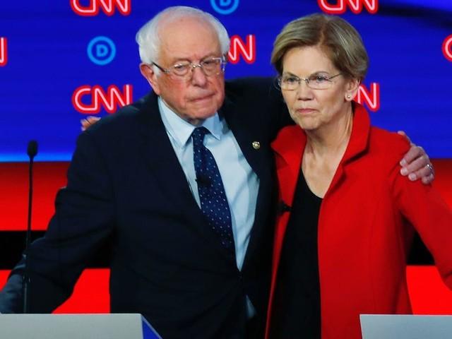 Elizabeth Warren and Bernie Sanders take swipes at billionaire Michael Bloomberg in response to his potential presidential bid