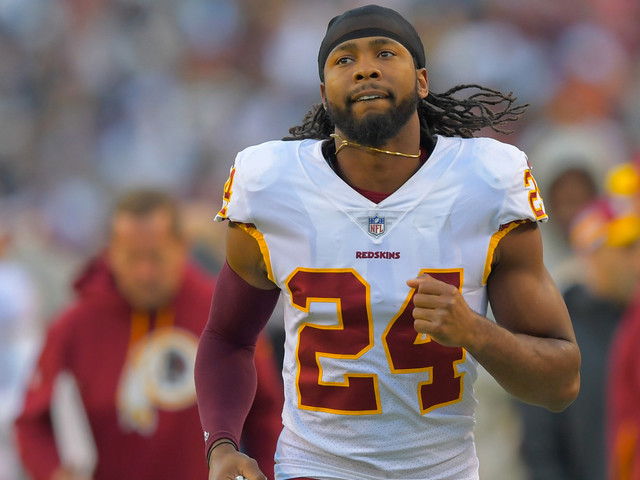 Josh Norman ran with the bulls and lived to tell the tale