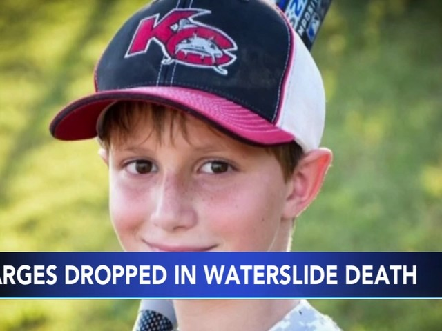 Judge dismisses charges over boy's death on waterslide
