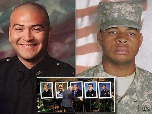Officer shot in ambush sues social media giants 'for radicalizing gunman Micah Xavier Johnson'