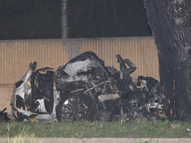 2 dead, including a cop, in fiery Henry Hudson Parkway crash