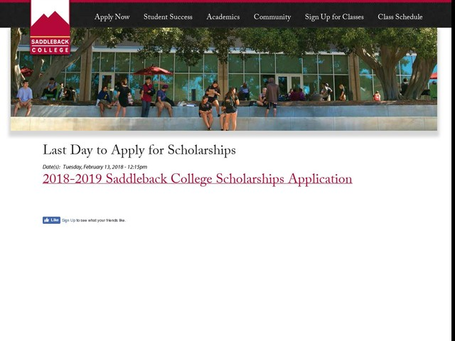 Last Day to Apply for Scholarships