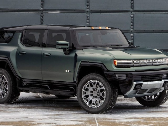 GMC just unveiled its $100,000 Hummer EV SUV with 830-horsepower that will hit streets in 2023 (GM)