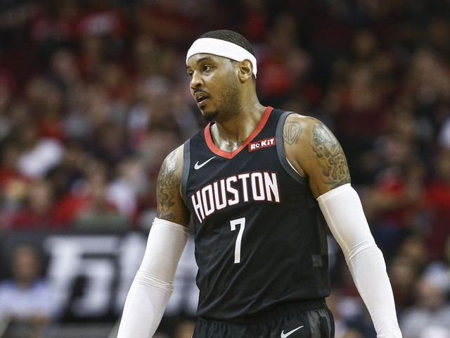 Carmelo Anthony's Rockets career is over after 10 games. How did this happen?