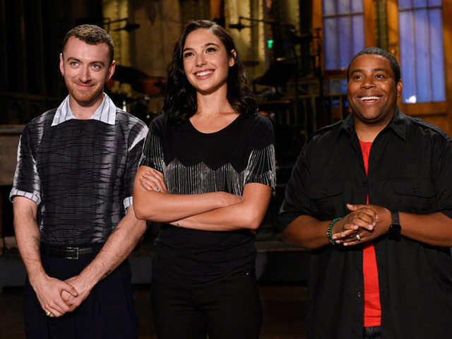 Gal Gadot & Sam Smith Are So Ready For 'Saturday Night Live'