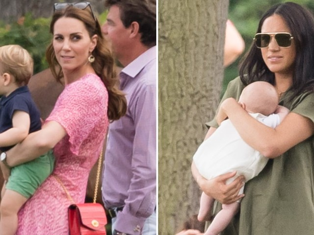 Kate Middleton and Meghan Markle's Precious Kids Stole the Spotlight at This Charity Polo Match