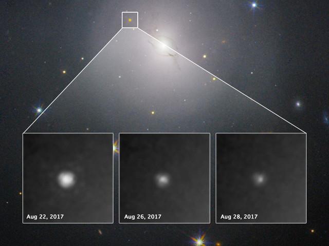 Hubble makes milestone observation of gravitational-wave source