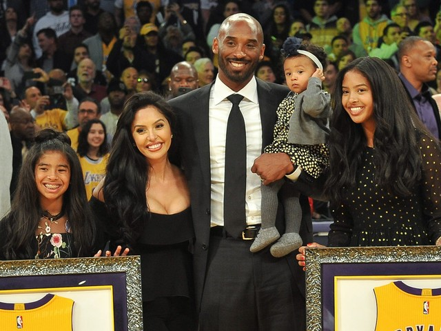 "Kobe Bryant Loved Being A ""Girl Dad"""