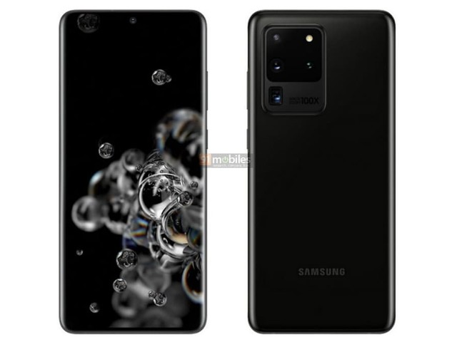 Samsung Galaxy S20, Galaxy S20+, and Galaxy S20 Ultra Renders, Prices Leaked