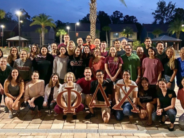 Phi Delta Chi ranks Gainesville chapter No. 4 nationally