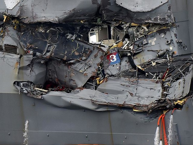 Have 7th Fleet collisions hurt confidence in U.S. Navy?