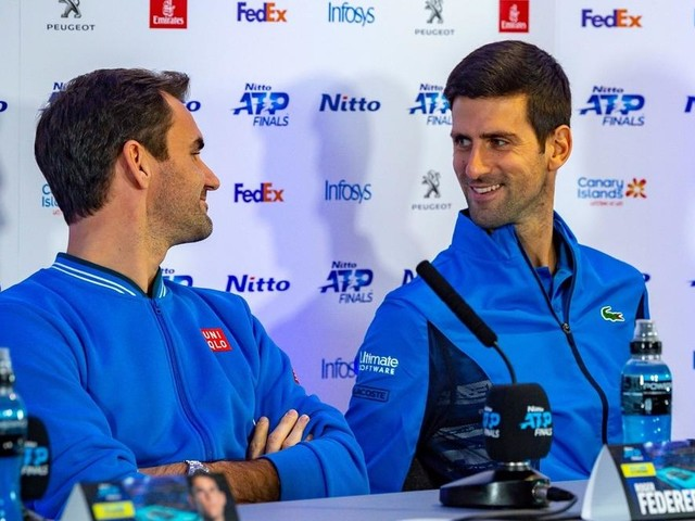 WATCH: Novak Djokovic and Roger Federer Have a Common Press Conference