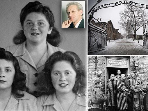 ALEX BRUMMER, whose grandparents were gassed at Auschwitz, recalls his pilgramage