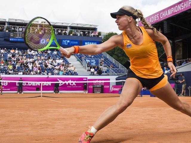 Tearful Bertens beats Kontaveit to win Gstaad Ladies title