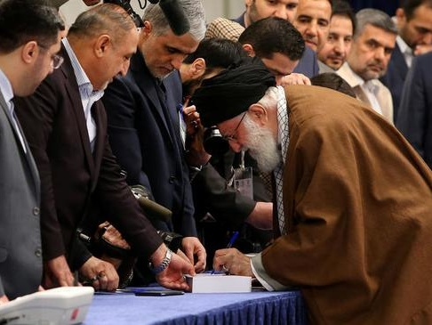 Iran's Hardliners Win Landslide Victory In Low Turn-Out Parliamentary Elections
