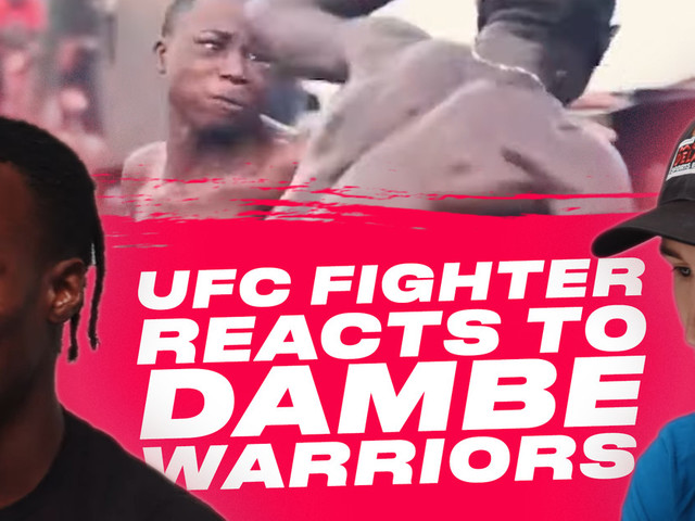 Watch: UFC Fighter Reacts to Dambe Warriors