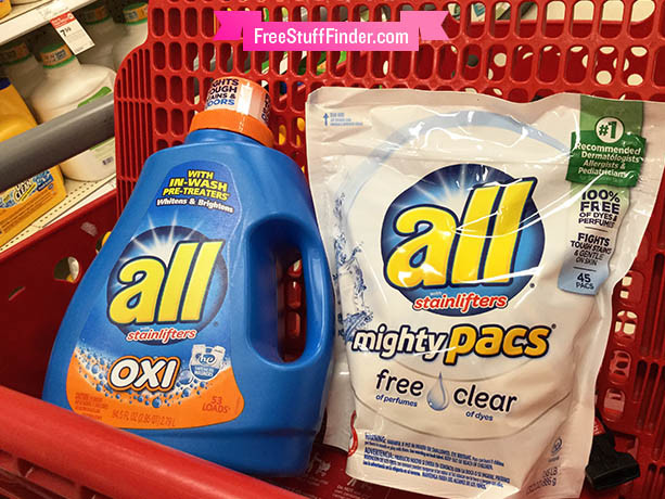 $3 Worth of NEW All Detergent Coupons (All Liquid Detergent Just 49¢ at Walgreens!)
