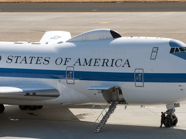 The Air Force's 'Doomsday plane,' where the president can run a nuclear war, needs repairs for wear and tear