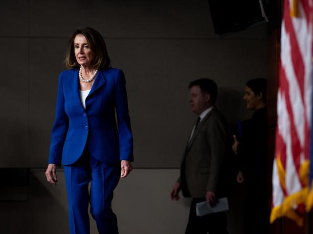 Pelosi Cautions on Impeachment as She Decries Trump's Ethics
