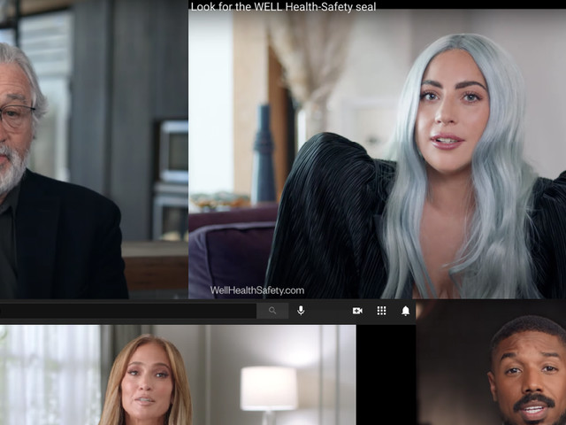 Lady Gaga and J.Lo Sell 'Well' Building Seal, but It's a Payday, Not a PSA