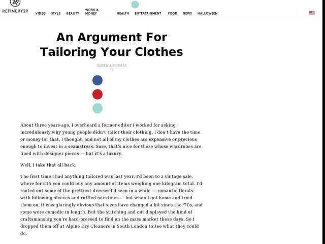 An Argument For Tailoring Your Clothes